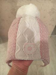 Милая шапочка и рукавички для принцессы