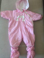 Комбинезон демисезонный 74 см. розовый