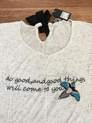 футболка женская с завязками