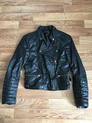 куртка косуха кожанная Zara