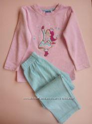 Велюровая пижама Lupilu Lidl, Германия в р-ре 98-104