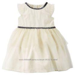 Платье Carters 6м - идеально для крестин. Оригинал