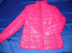 Розовая женская весенняя куртка демисезонн р-р 48 46 44
