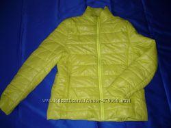 яркая салатная куртка женская весенняя куртка демисезонн р-р 46-48