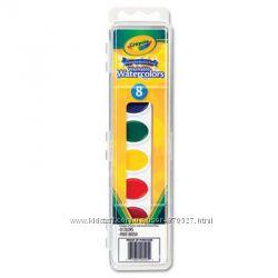 Акварельные смываемые краски Crayola США