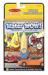 Водная многоразовая разукрашка water wow, Melissa and Doug