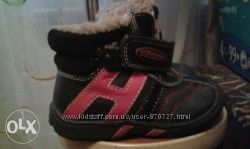 Ботиночки FLAMINGO зима кожа цигейка