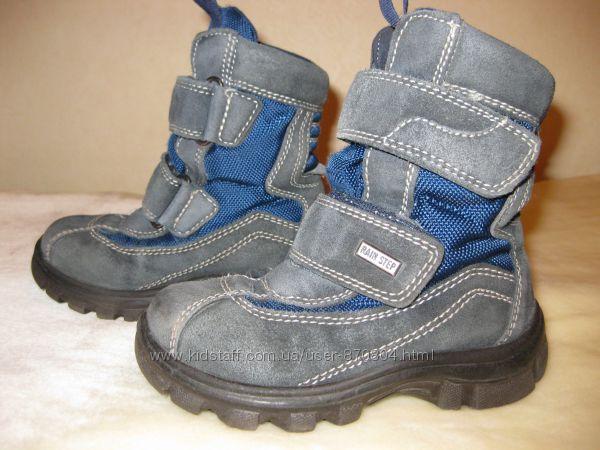 Супер теплые зимние ботинки NATURINO, размер 27