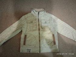 Котоновая куртка-ветровка ZARA, размер 3-4-5 лет