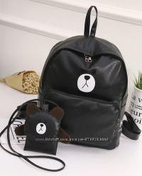 Рюкзак и сумочка с Мишками-Симпатяшками