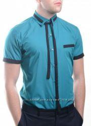 Рубашки с коротким рукавом размер М