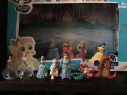 Игрушки из киндеров феечки, принцессы диснея