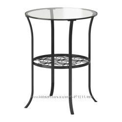 Придиванный столик черный Клингсбу KLINGSBO Ikea Икеа 201. 285. 64 В наличи