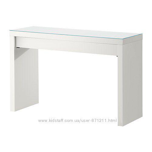Туалетный столик Белый, Мальм Malm Ikea Икеа 102. 036. 10 В наличии.