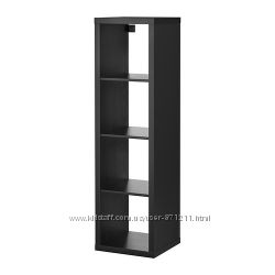 Стелаж Черно-коричневый Каллакс Kallax Ikea Икеа 402. 758. 46 В наличии