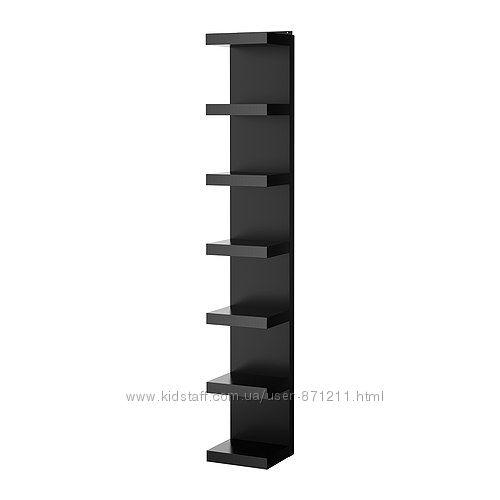 Полочный модуль Черный, ЛАКК LACK Ikea Икеа 201. 637. 79 В наличии