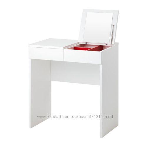 Туалетный столик Белый, БРИМНЭС BRIMNES Ikea Икеа 702. 904. 59 В наличии