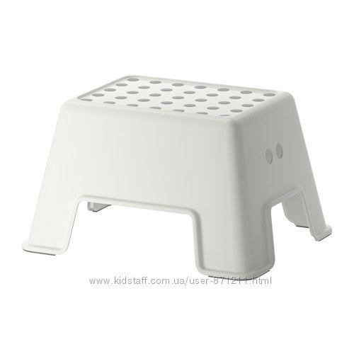 Табурет-лестница Белый, БОЛЬМЕН BOLMEN Ikea Икеа 602. 651. 63 В наличии