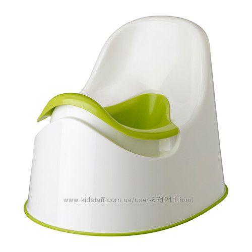 Горшок Белый зеленый, ЛОККИГ LOCKIG Ikea Икеа 601. 931. 28 В наличии