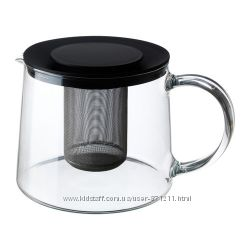 Чайник заварочный Риклиг. Riklig. 1. 5 л. В наличии. Ikea. Икеа. 90150071