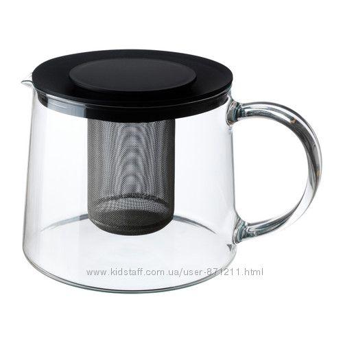 Чайник заварочный 1, 5 л. , Риклиг Riklig Ikea Икеа 901. 500. 71 В наличии