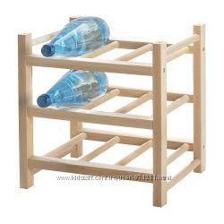 Подставка для 9 бутилок ХУТТЕН. HUTTEN. В наличии. Ikea. Икеа. 70032451
