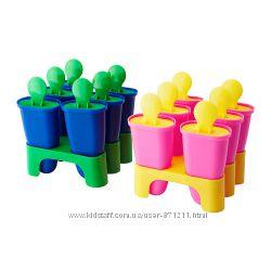 Форма для мороженого ЧОСИГТ. CHOSIGT. Разные цвета. В наличии. Ikea. 80208