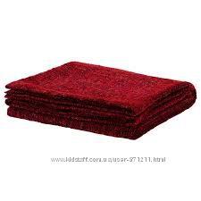 Плед Красный, Гурли Gurli Ikea Икеа 802. 049. 08 В наличии