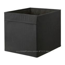 Коробка Дрена. Drona. Черный. В наличии. Ikea. Икеа.  302. 192. 81