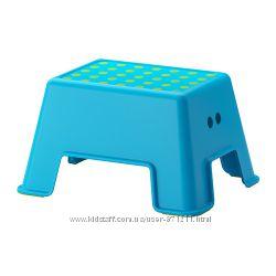 Табурет-лестница Синий, Больмен Bolmen Икеа Ikea 902. 913. 30 В наличии