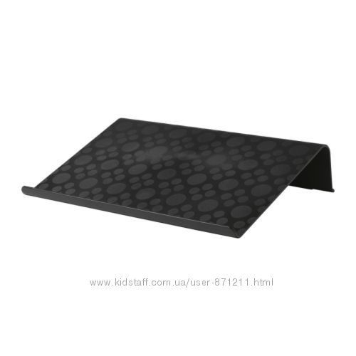 Подставка для ноутбука Черный, Брэда Brada Икеа Ikea 601. 501. 76 В наличии