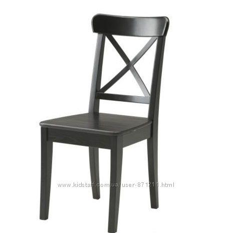 Стул Черный Ингольф Ingolf Ikea Икеа 301. 259. 23 В наличии