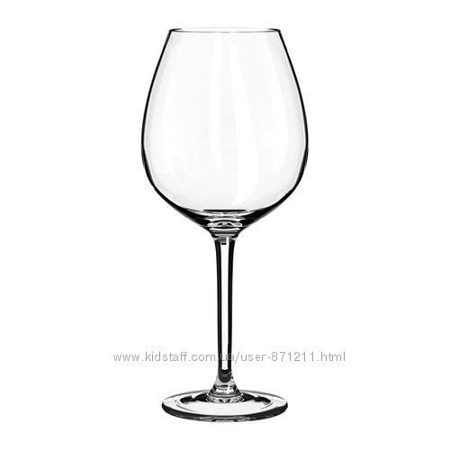 Набор бокалов для вина 6шт Хедерлиг Hederlig Ikea Икеа 001. 548. 70 В налич