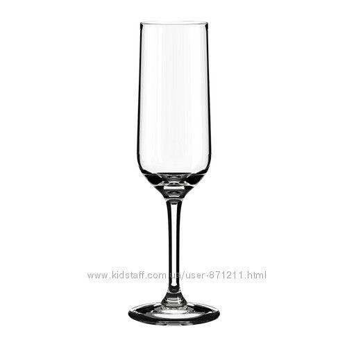 Набор бокалов для шампанского Хедерлиг Ikea Икеа 401. 548. 73 В наличии