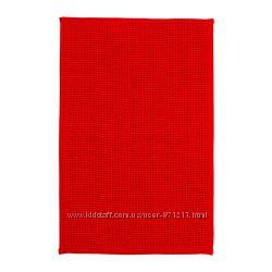 Коврик для ванной Красный, Бадарен Badaren Ikea Икеа 502. 996. 44 В наличии