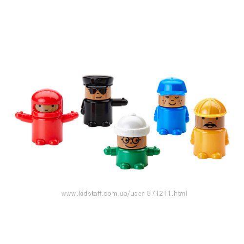 Игрушечные фигурки ЛИЛЛАБУ LILLABO Икеа Ikea 602. 426. 14 В наличии
