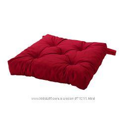 Подушка на стул Красный, Малинда Malinda Ikea Икеа 402. 027. 46 В наличии