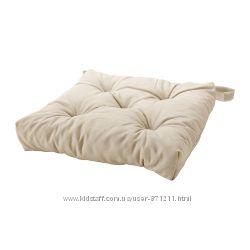 Подушка на стул Бежевый, Малинда Malinda Ikea Икеа 102. 092. 02 В наличии