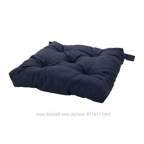 Подушка на стул Синий, Малинда Malinda Ikea Икеа 202. 027. 47 В наличии