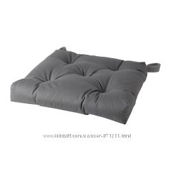 Подушка на стул Серый, Малинда Malinda Ikea Икеа 103. 310. 14 В наличии