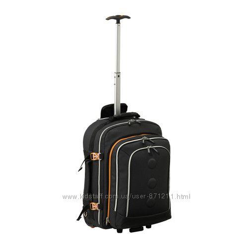 Рюкзак на колесиках Уптэкка Upptacka Ikea Икеа 502. 177. 66 В наличии