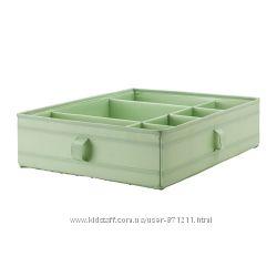 Ящик с отделениями Зеленый, Скубб Skubb Ikea Икеа 902. 997. 17 В наличии