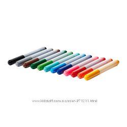 Набор фломастеров 12 штук Мола Mаla Ikea Икеа 201. 840. 41 В наличии