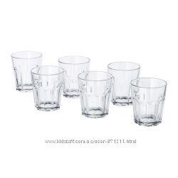 Стаканы прозрачные 6шт Pokal Покаль Икеа IKEA 302. 882. 41 В наличии