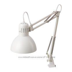 Лампа настольная белая Терциал Tertial Ikea Икеа 703. 554. 55 В наличии