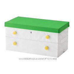 Коробка с крышкой Flyttbar Флюттбар Икеа IKEA 603. 288. 44 В наличии