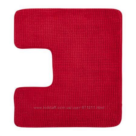 Коврик в туалет красный, Toftbo Тофтбу 202. 734. 00 Икеа Ikea в наличии