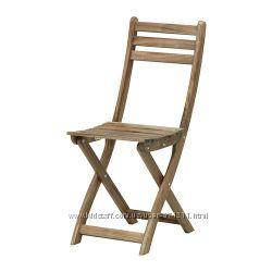 Садовый стул, складной Аскхольмен Askholmen 502. 400. 31  Ikea Икеа В налич