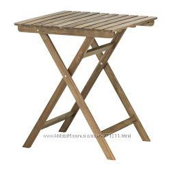 Садовый стол, морилка Аскхольмен Askholmen 602. 400. 35  Ikea Икеа В наличи