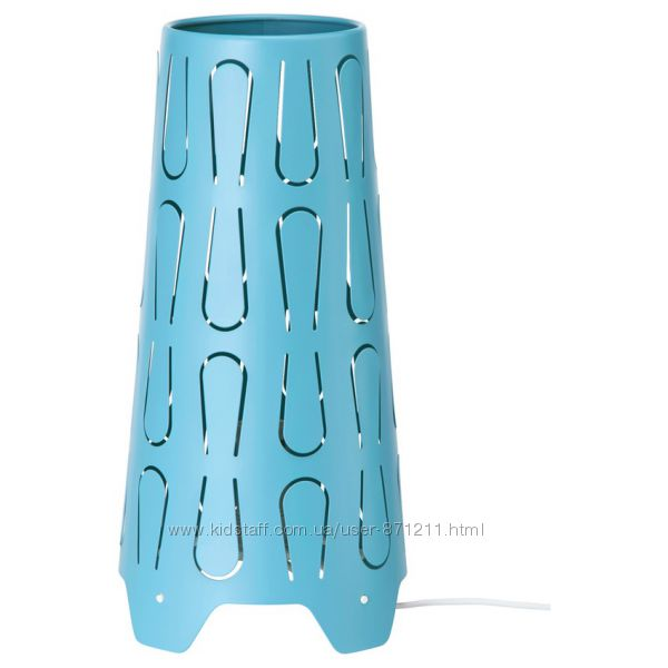 Лампа настольная, синний Каюта Kajuta 703. 080. 58 Ikea Икеа В наличии